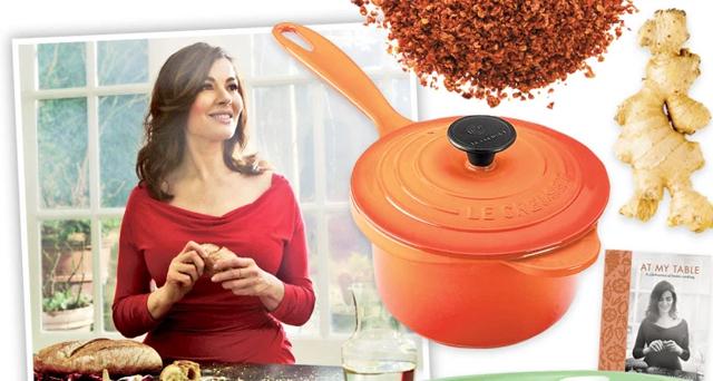 Chef Nigella Lawson reveals her favorite kitchen secrets